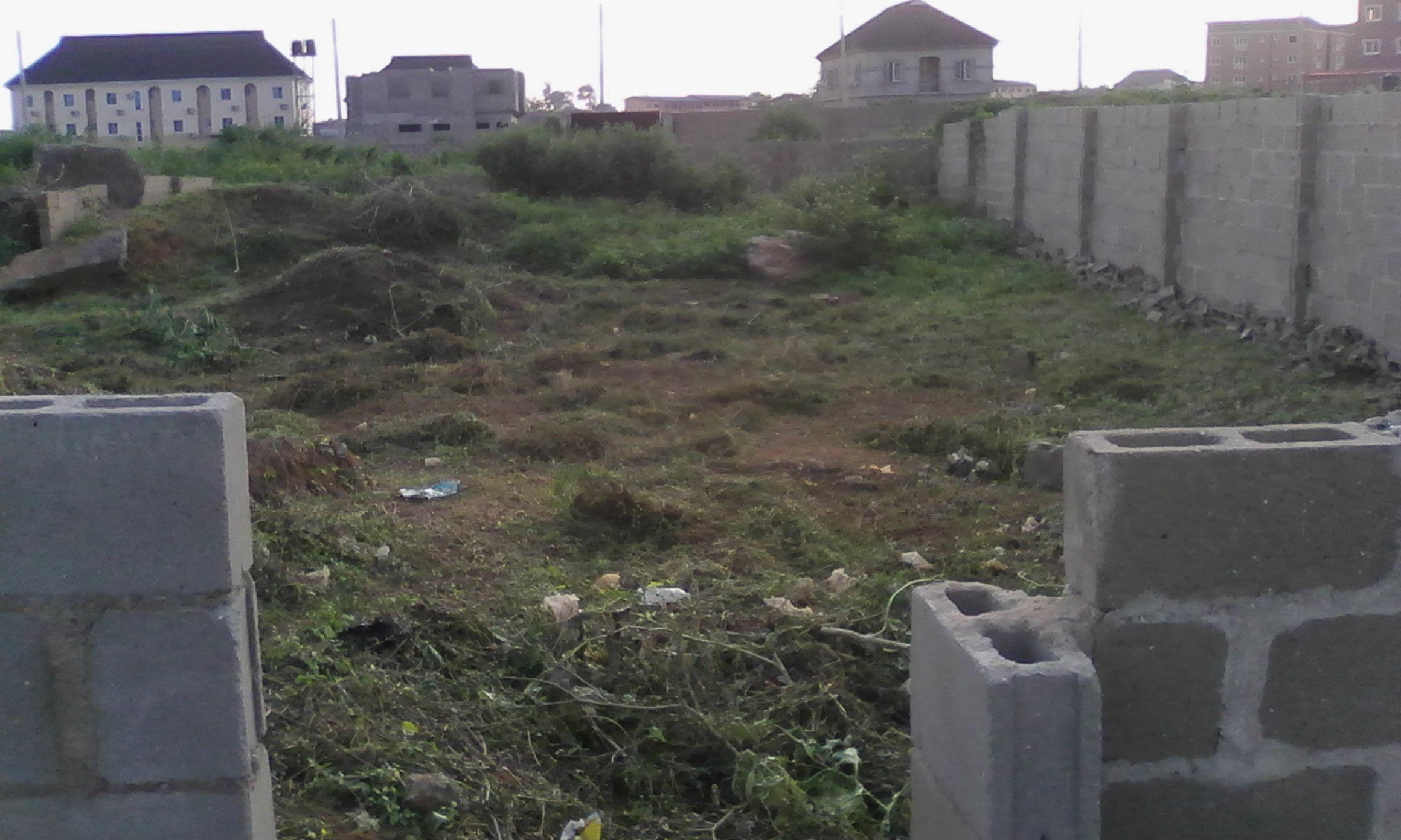 empty plots of land