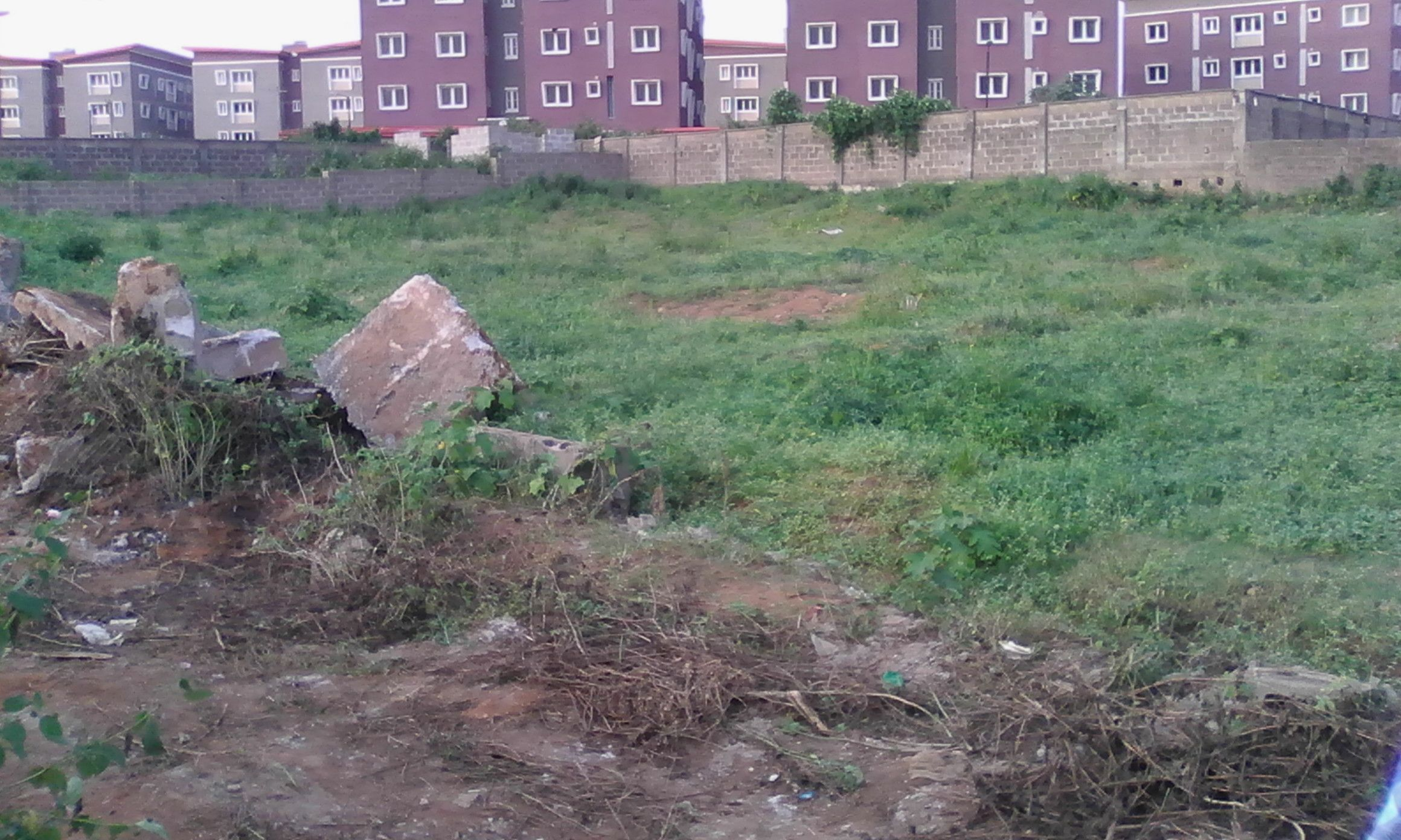 3 plots of empty Land for Sale