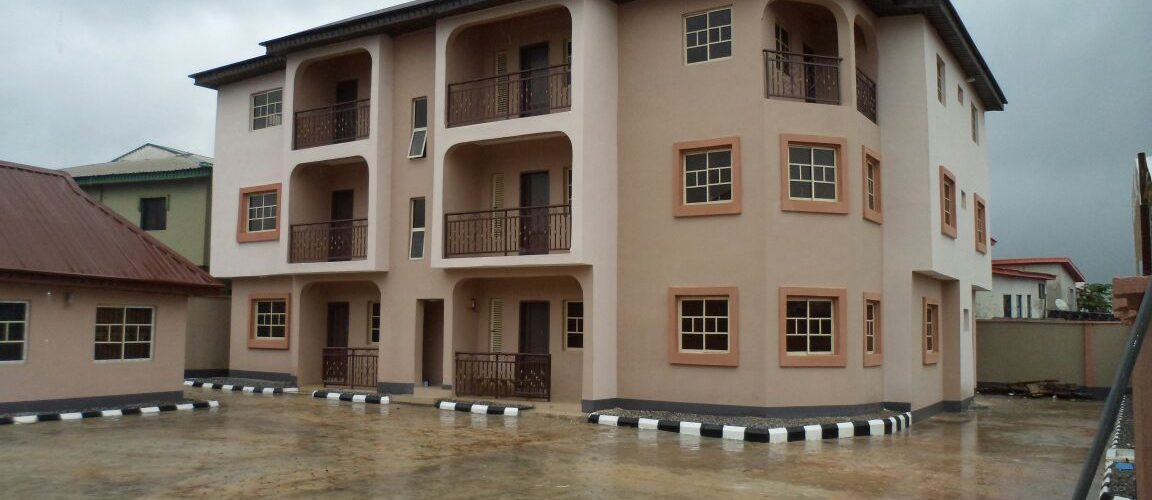 12 units of 3 bedroom flats & 4 units 2 bedroom flats