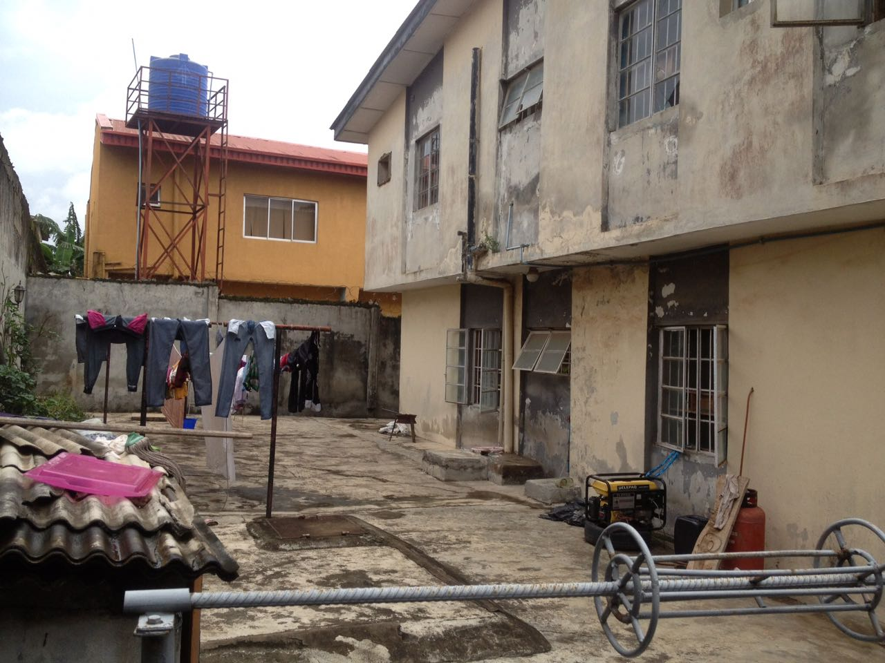 Building for sale at Gowon estate close to Egbeda Lagos