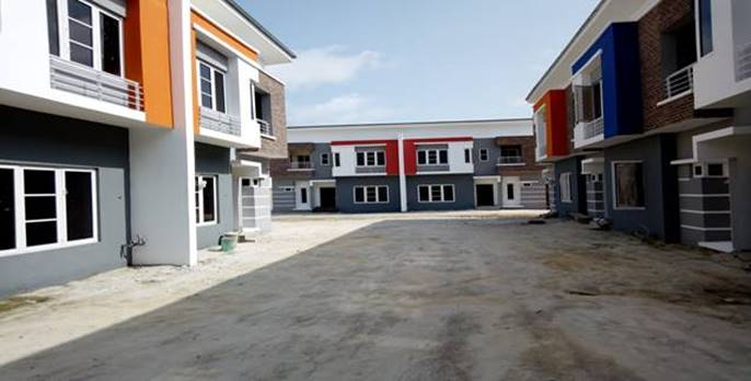 4bedroom Terrace houses for sale Ajah Lagos
