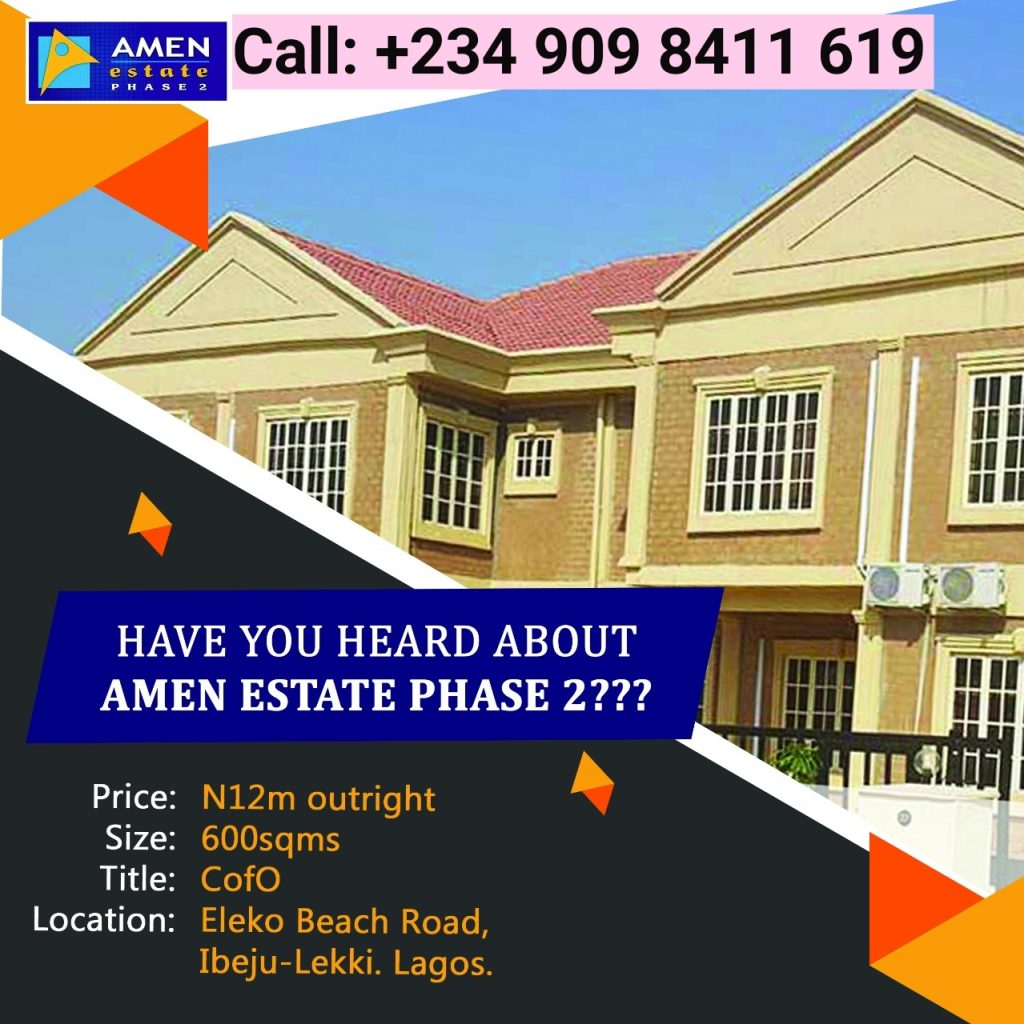 Amazing Property For Sale in Ibeju-Lekki Lagos