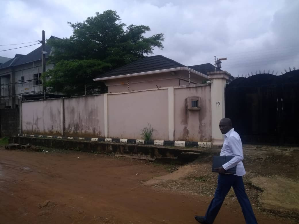 5 Bedroom Bungalow House Adams estate Ikotun Lagos